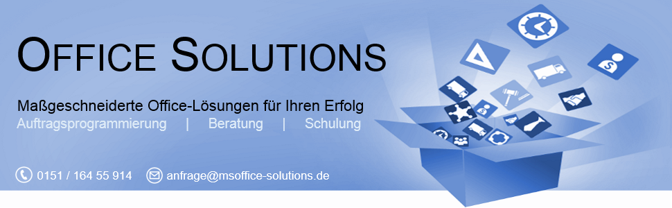 MS Office Solutions